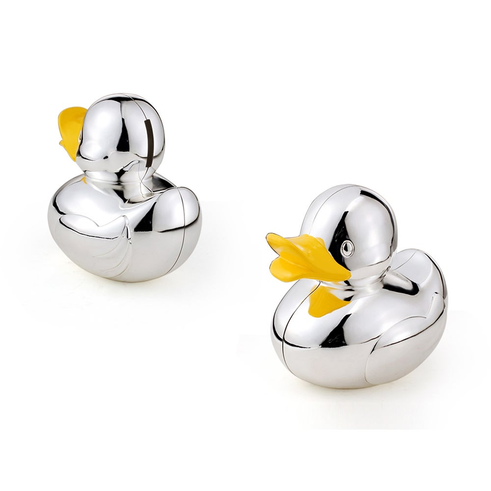 Whitehill Baby - Silver Plated Money Box - Duck