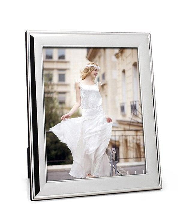 Whitehill Frames - Silver Plated Photo Frame - Plain 20cm x 25cm