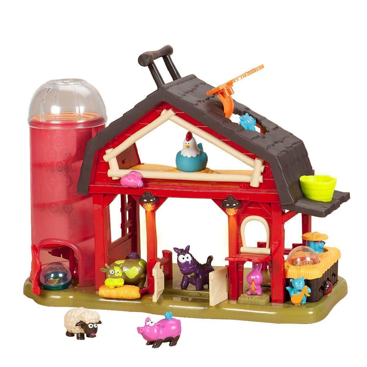 B. Toys - Baa-Baa Barn Playset for toddlers