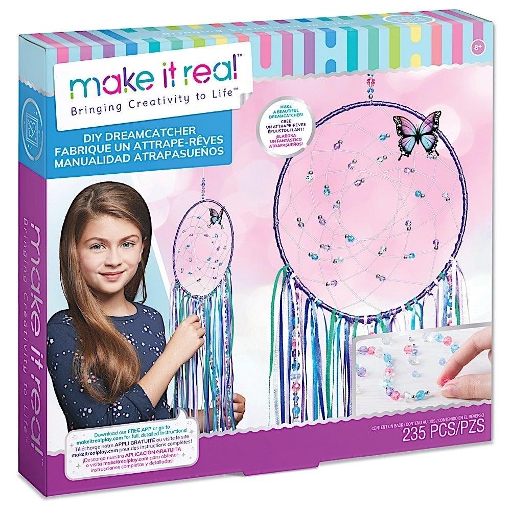 Make It Real - DIY Dreamcatcher. Make Your Own Dream Catcher Arts & Crafts Kit