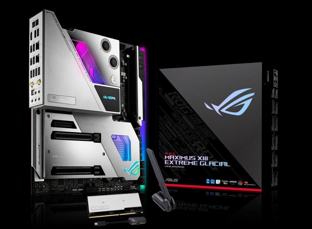 ASUS ROG Maximus XIII Extreme Glacial Intel Z590 LGA 1200 Extended ATX