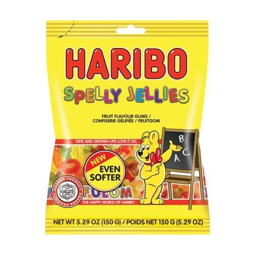 3 x Haribo Spelly Jellies 150Gr