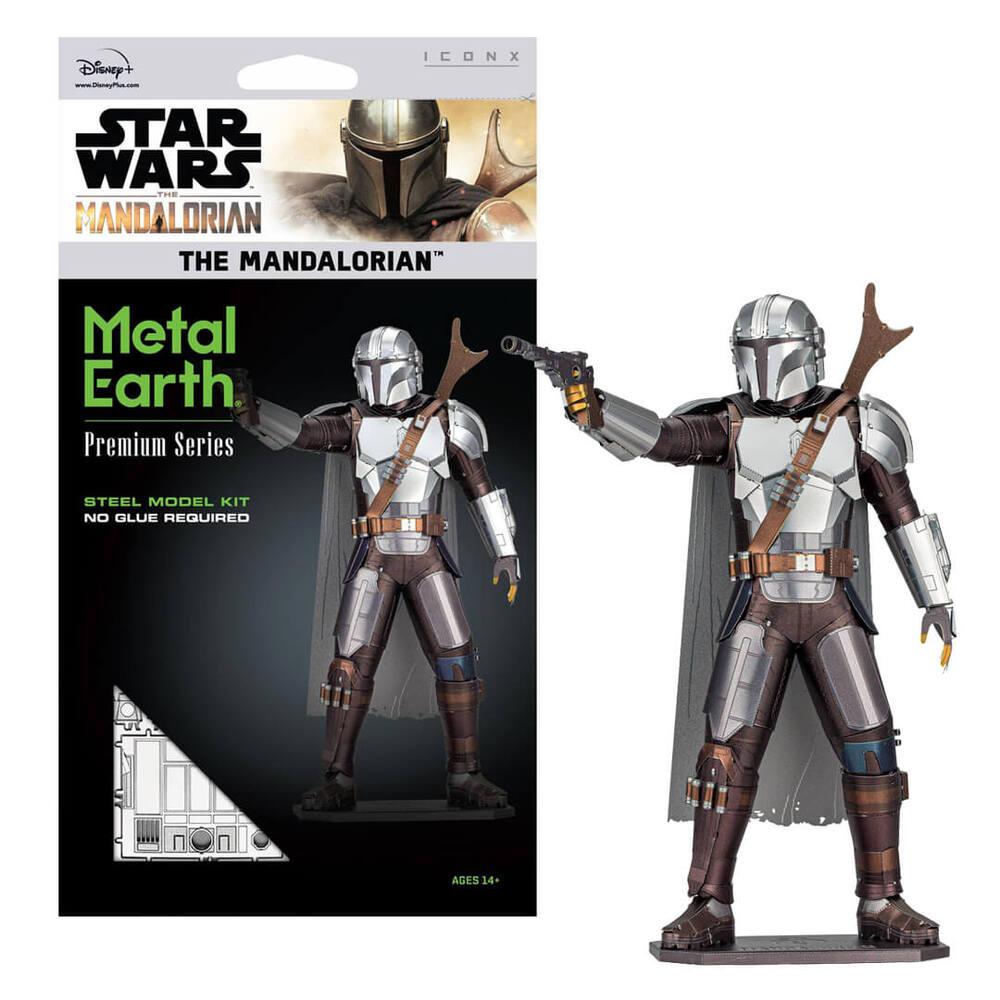 Fascinations Metal Earth ICONX Star Wars The Mandalorian