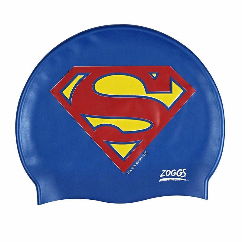 Zoggs Kids Superman Swimming Cap