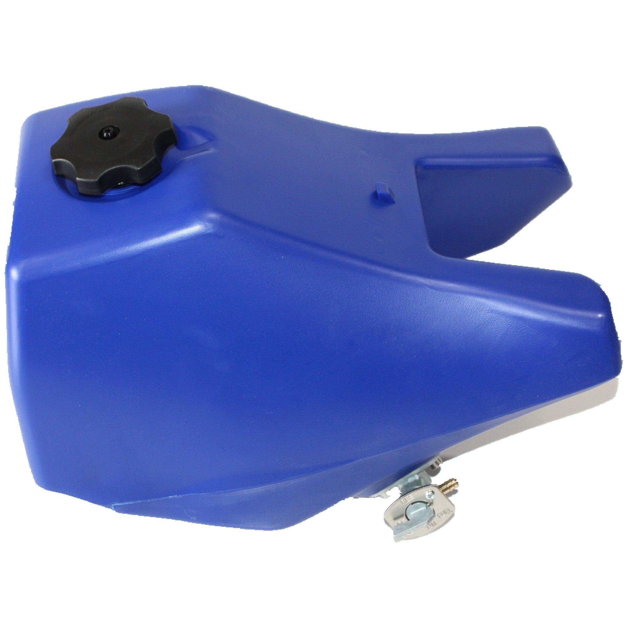 BLUE PETROL FUEL TANK YAMAHA PY80 PW80 PEEWEE80 PIT TRIAL DIRT BIKE Y-ZINGER