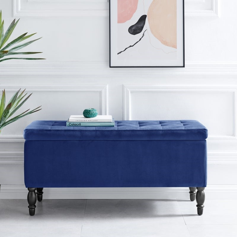 How To Decorate An Ottoman
