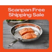 Free Shipping Scanpan Sale