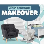 Kids' Bedroom Makeover