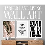 Harper Lane Living Wall Art