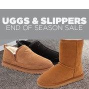 Uggs & Slippers End of Season Sale