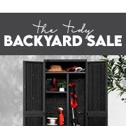 The Tidy Backyard Sale
