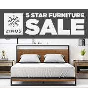Zinus 5 Star Furniture Sale