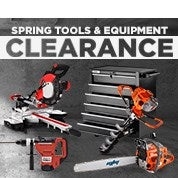Spring Tools & Equipment Clearance