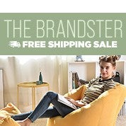 The Brandster Free Shipping Sale