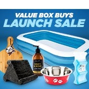 Value Box Buys Launch Sale