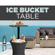 Ice Bucket Cooler Tables