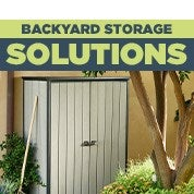 Backyard Storage Solutions