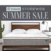Zinus Summer Sale