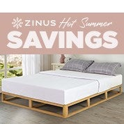 Zinus Hot Summer Savings