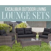 Excalibur Outdoor Living Lounge Sets