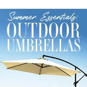 Summer Essentials: Outdoor Umbrellas