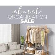 Closet Organisation Sale