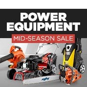 Power Equipment Mid-Season Sale