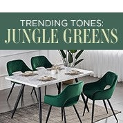 Trending Tones: Jungle Greens
