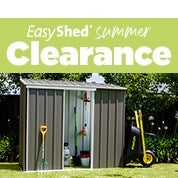 EasyShed Summer Clearance
