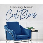 Trending Tones: Cool Blues