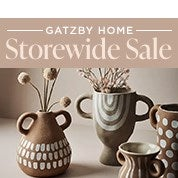 Gatzby Home Storewide Sale