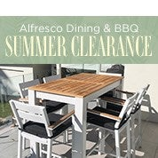 Alfresco Dining & BBQ Summer Clearance