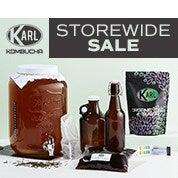 Karl Kombucha Storewide Sale