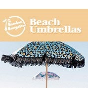 Bamboo Bungalow Beach Umbrellas