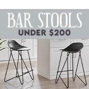 Bar Stools Under $200