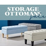 Storage Ottomans Sale