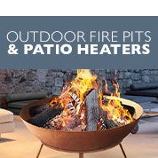 Outdoor Fire Pits & Patio Heaters