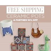 Free Shipping Ceramic Pots