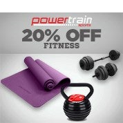 PowerTrain Fitness 20% Off