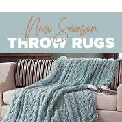 New Season Throw Rugs
