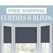 Free Shipping Curtains & Blinds