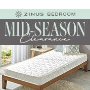 Zinus Bedroom Mid-Season Clearance
