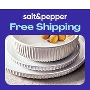 Salt&Pepper Free Shipping Sale