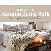 Kingtex Autumn Bed & Bath Refresh
