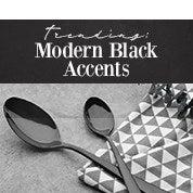 Trending: Modern Black Accents