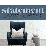 Statement Accent Chairs