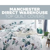 Manchester Direct Warehouse Top Quilt Covers