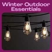 Winter Outdoor Living Essentials