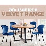 70's Inspired Velvet Range
