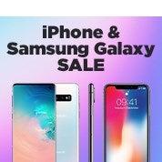 iPhone & Samsung Galaxy Sale